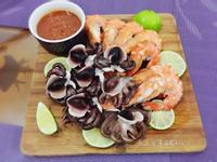 五味章魚鮮蝦雙拼