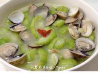 蒜香蛤蜊燴絲瓜