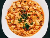 麻婆豆腐-家常菜