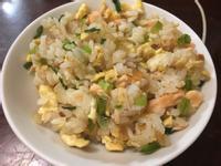 青椒鮭魚炒飯