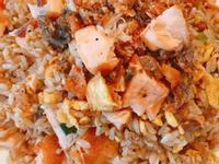 酥脆➡️《鮭魚蛋炒飯》