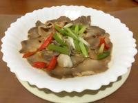 「電鍋料理」醬汁秀珍菇