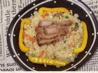 客家鹹豬肉蛋炒飯