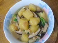 鹹地瓜湯圓