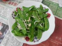 香炒荷蘭豆