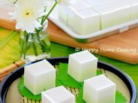 雙色班蘭椰汁糕 ~ 夏日甜品清涼爽快