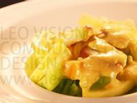 沙桔優格果律蔬果-鹹蛋金桔沙拉醬超美味