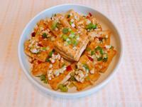 金沙豆腐(板豆腐)