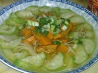 雙瓜(南瓜+絲瓜)清蒸金針菇