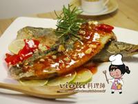 香煎鯖魚佐泰式雞醬