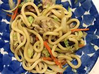 お弁当-170922-炒烏龍麵