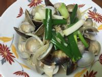 洋蔥炒蛤蜊