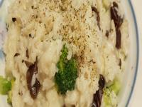奶油蘑菇松露燉飯