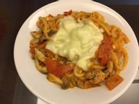 「一鍋到底料理」番茄起士烏龍麵