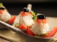 花生番茄丸子佐甜蝦-味道絕配的夏日開胃菜