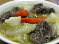 [MamyCare 媽咪凱兒] 月子餐_清燉蔬菜牛肉湯