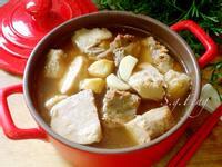 蒜頭芋仔排骨湯(電鍋版)