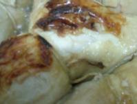 鹽麴酸菜雞腿捲