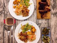輕鬆簡單 BBQ烤豬肋排(含配菜)