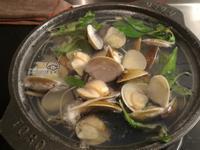 塔香蒜味蛤蜊湯