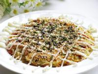 [高麗菜日式煎餅]簡易親子料理