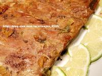 味噌蔥烤豬肋排