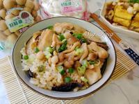 菇菇麻油雞飯(電鍋版)【好菇道好食光】