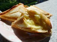 品靚上菜-黃金奇異果熱起司三明治