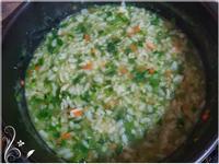 寶寶副食品-地瓜葉吻仔魚粥