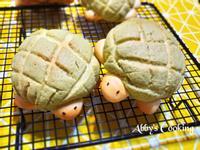 湯種抹茶烏龜菠蘿麵包