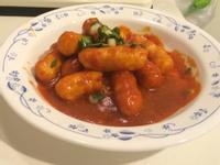 韓式辣醬甜不辣