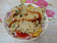 高麗菜培根蛋餅