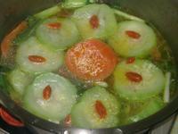 枸杞絲瓜香菇湯