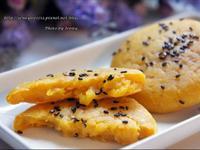 芝麻南瓜Q餅(油煎版&烤箱版)