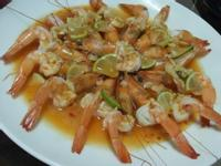 ღ小吟愛做菜ღ微波料理『泰式檸檬蝦』