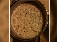 寶寶副食品~黑棗豬肉粥(9m)