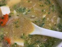 快速版豚汁味噌湯