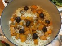 一鍋到底の懶人炊飯-地瓜栗子雞肉炊飯