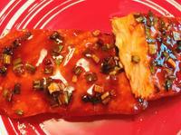 烤蜜汁鮭魚