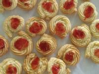 草莓酱饼干