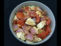 番茄雞肉乾麵