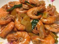 薑片酒蔥蝦