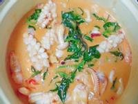 泰式海鮮紅咖哩