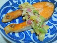 ㄚ曼達的廚房~小資女孩元氣充電~酸甜煎鮭魚