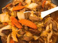 沙茶牛滷白菜
