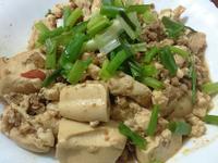 簡易炸醬豆腐