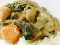 椰香綠咖喱