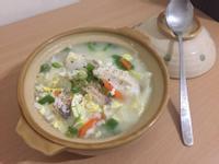 蔬菜魚片粥