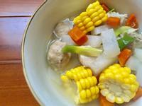 蘿蔔玉米排骨湯