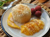 芒果椰汁糯米飯《 泰式甜品 》  Mango & Coconut milk Sticky Rice